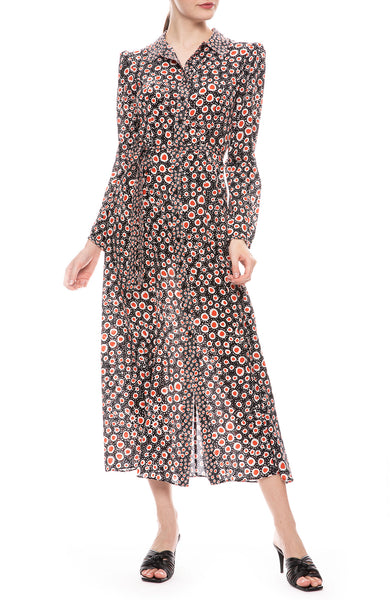 Vanessa Tie Maxi Dress