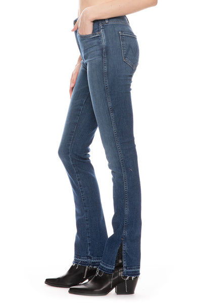 The Rascal High Waisted Slice Flare Jean in Rights of Passage