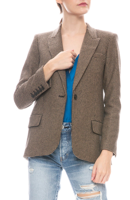 Don Herringbone Blazer