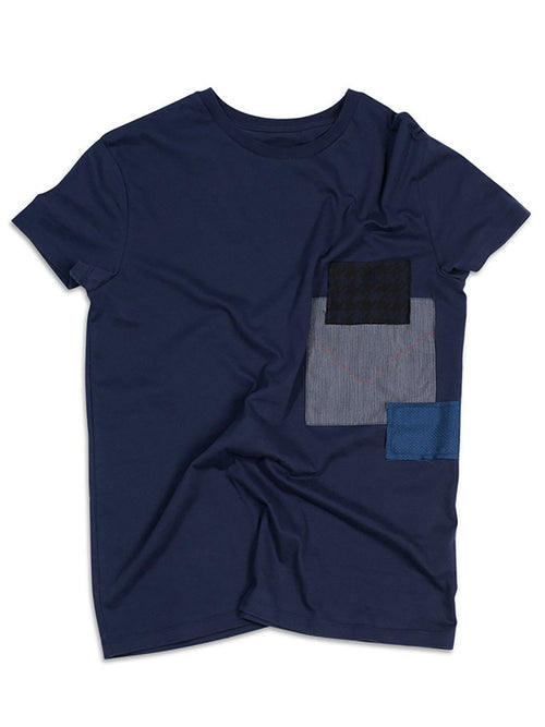 Patchwork Slouch Tee