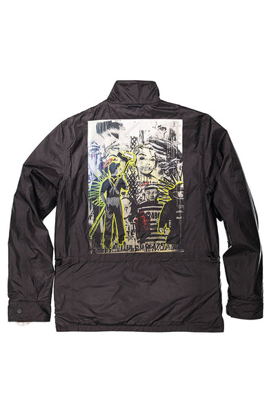 Reversible M65 Jacket with Lining Art by Layer Cake