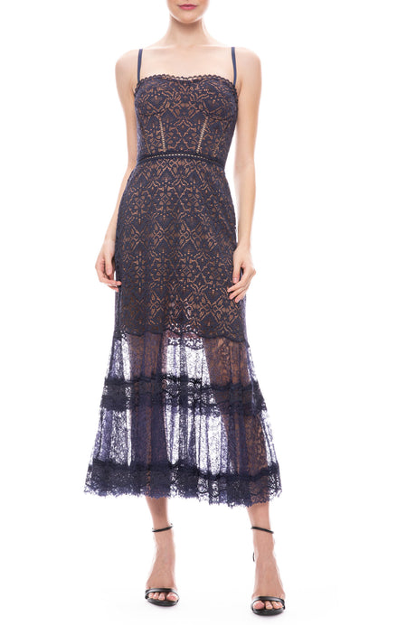 Multi Media Lace Dress