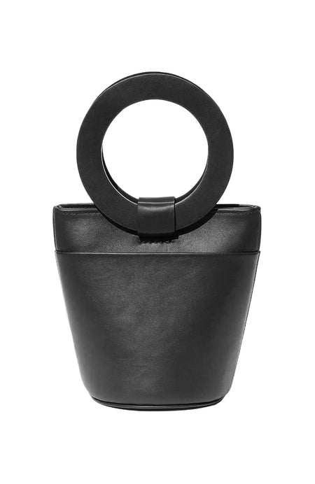 Mini Circle Handle Bucket Bag