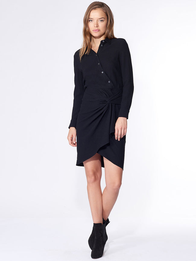 Wren Twist Shirt Dress