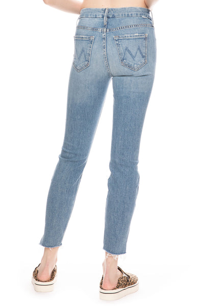 The Looker Ankle Step Fray Skinny Jeans in Exposed Secret Sister