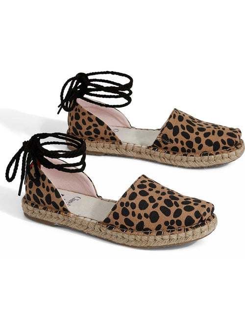 Katalina Lace Up Espadrille.