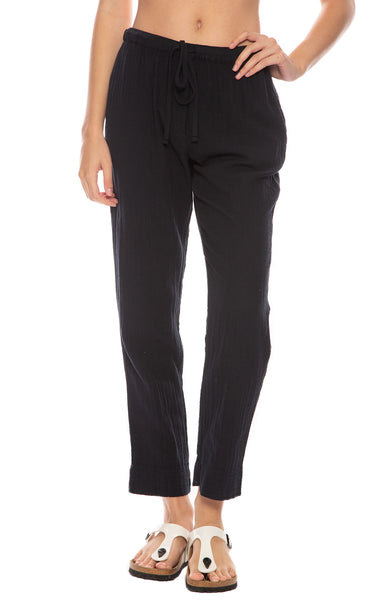Xirena Jordyn Gauze Pants in Dark Navy