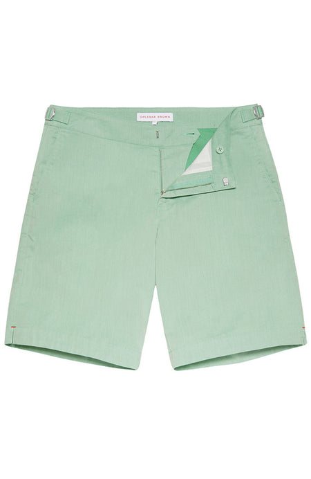 Dane Lawn Two Tone Longest-Length Swim Shorts