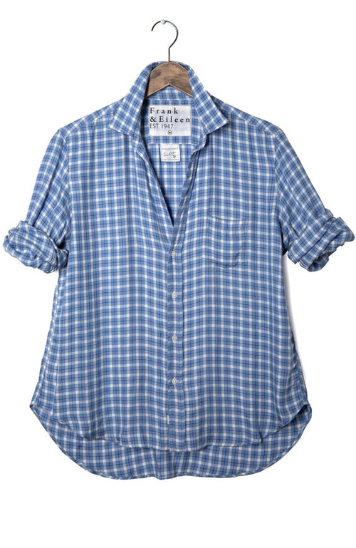 Womens Eileen Modal Plaid Shirt