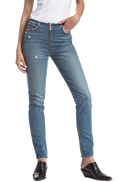 Colby High Rise Full Zip Jean