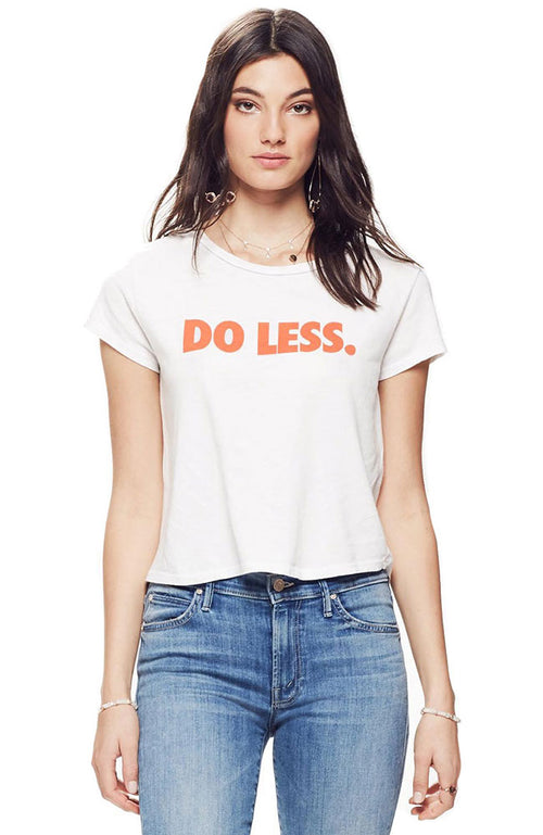 Boxy Goodie Do Less Tee