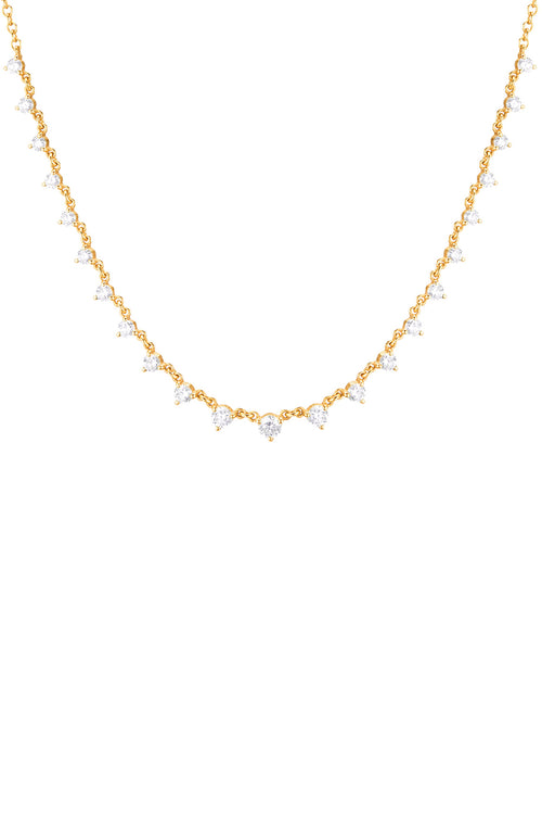 Carbon & Hyde Yellow Gold Diamond Starstruck Necklace at Ron Herman