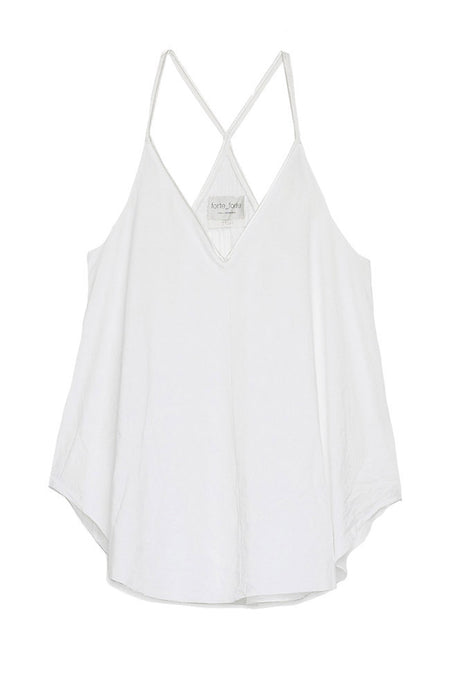 Cotton Poplin V-Neck Cami