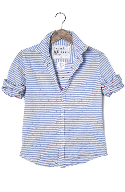 Womens Barry Stripe Anchor Shirt