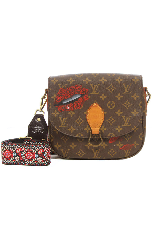 Rose Lips Crossbody Bag
