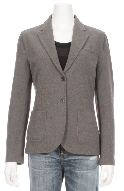 Slim Fleece Blazer