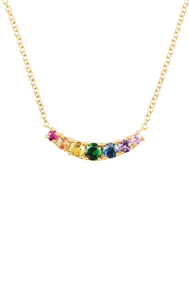 Rainbow Cinderalla Necklace