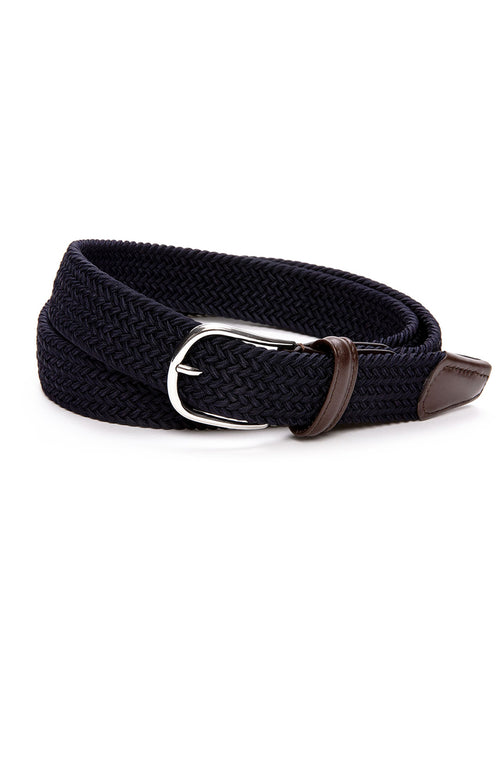 Anderson's Core Stretch Braided Belt at Ron Herman