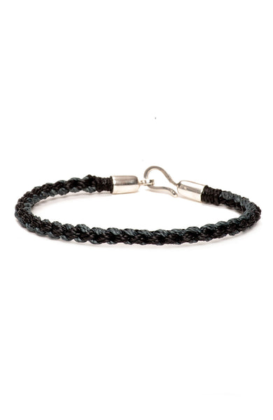 Caputo & Co. Nylon Hand-Braided Bracelet at Ron Herman