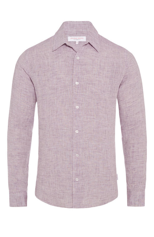 Morton Linen Tailored Shirt