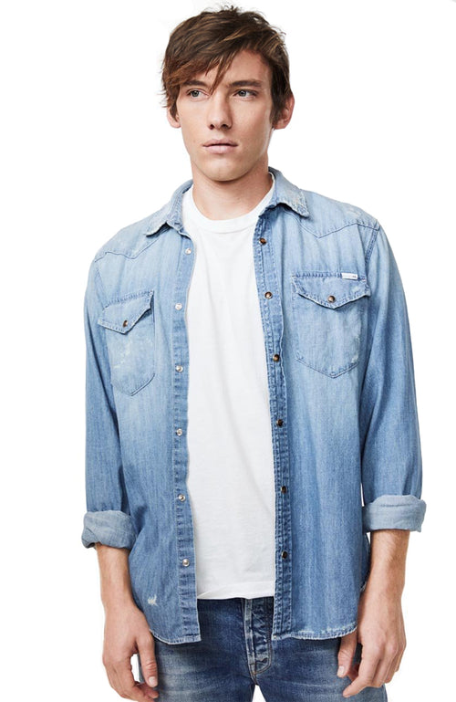 The City Slicker Denim Shirt