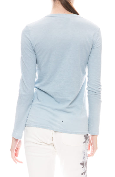 Aja Long Sleeve Crew T-Shirt