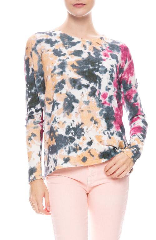 Cassi Monarch Tie Dye Sweater