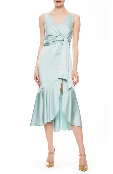 Mia Fluid Satin Dress