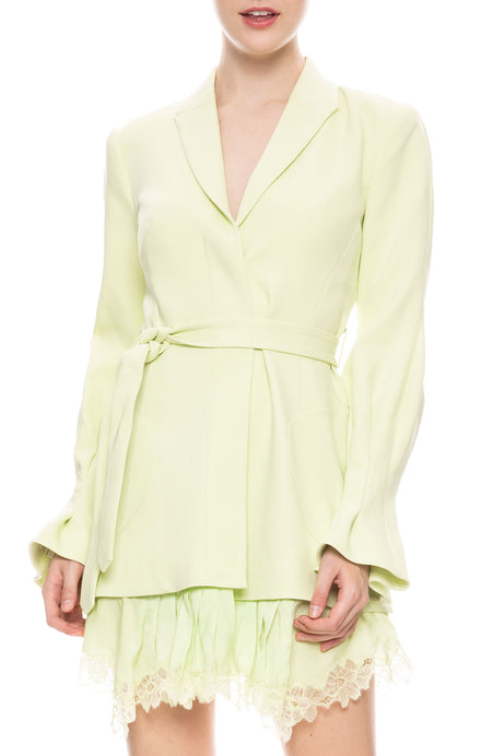 Victoira Crepe Dress Jacket