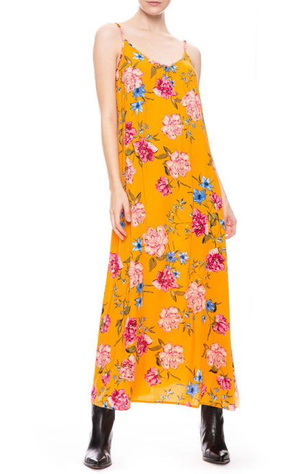 Golden Blooms Dress