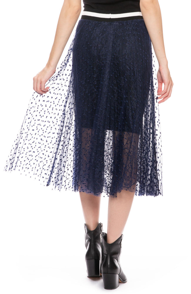 Two Layer Mesh Skirt