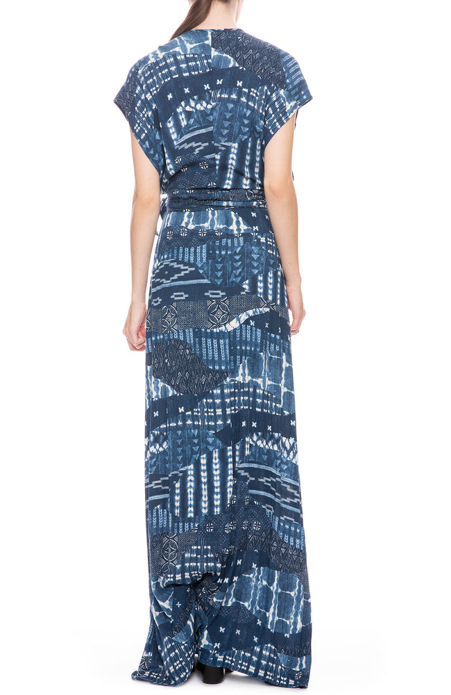 Garbo Wrap Dress