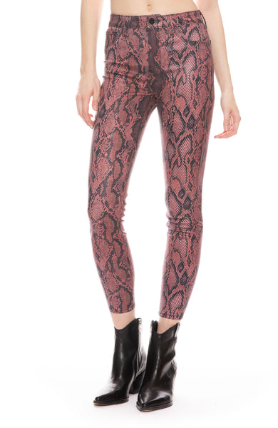Margot Coated Python Jean