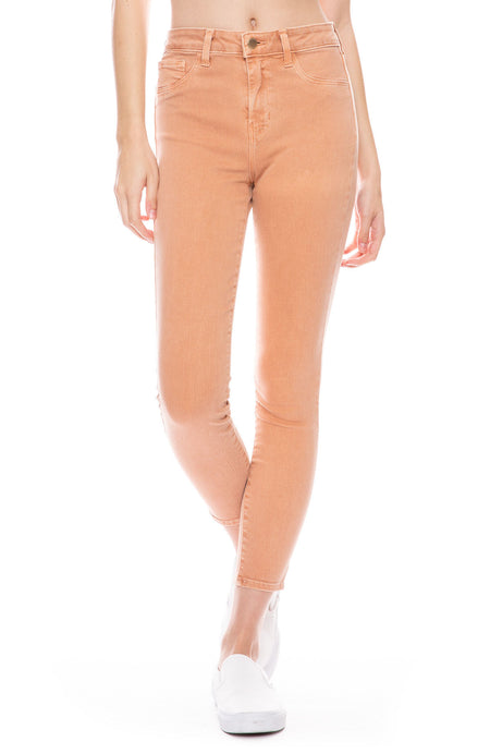 Margot High Rise Skinny Jean in Terracotta