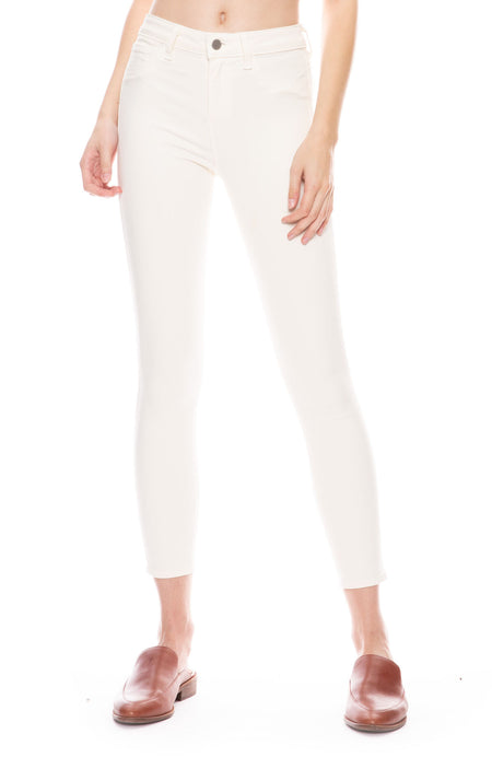 Margot High Rise Skinny Jean in White