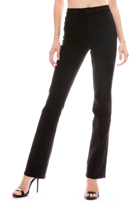 Oriana High Waist Straight Jean