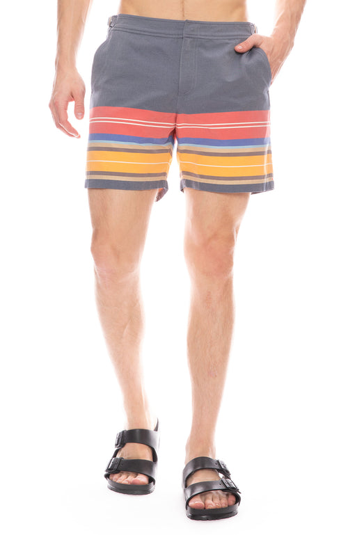 Bulldog Amalfi Stripe Swim Shorts
