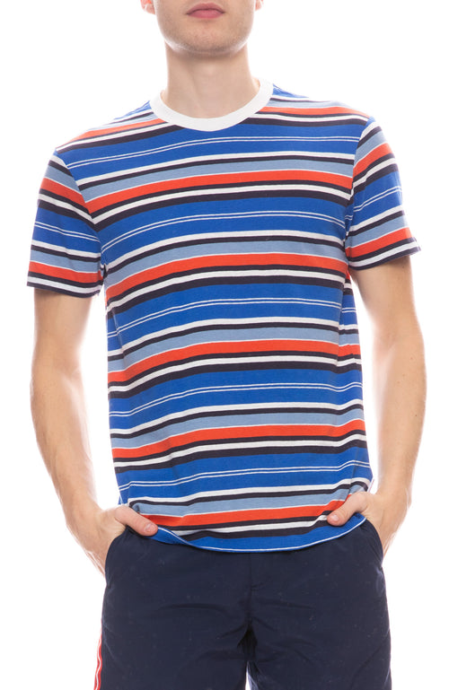 Sammy Amalfi Stripe Short Sleeve Tee