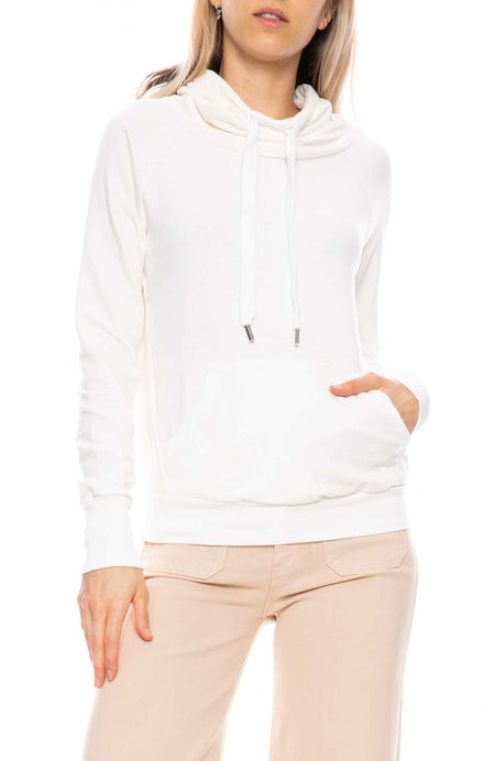 Grace Pullover with Funnel Neck
