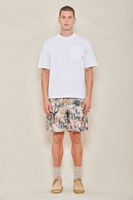 Wounda Desert Print Swim Short