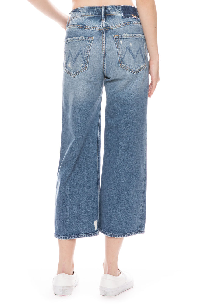The Tomcat Roller Shorty Wide-Leg Jeans in Take Me Higher