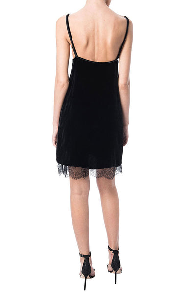 Lara Lace Velvet Underlay Dress
