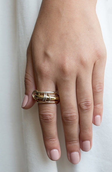 Orion Gold X Ring