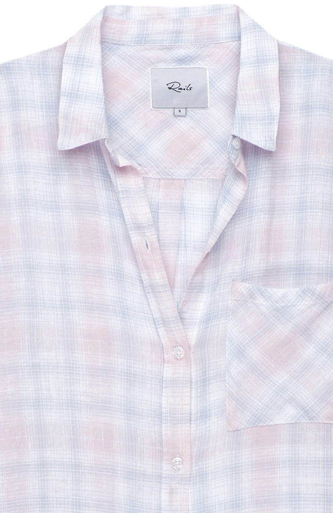 Whitney Short Sleeve Plaid Shirt