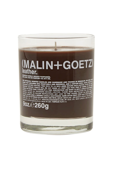 Malin+Goetz Leather Candle at Ron Herman