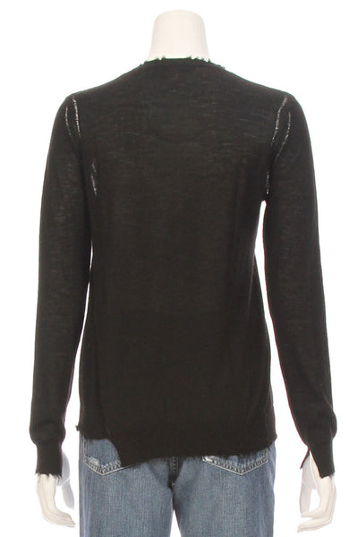 Lucina Fray Edge Sweater
