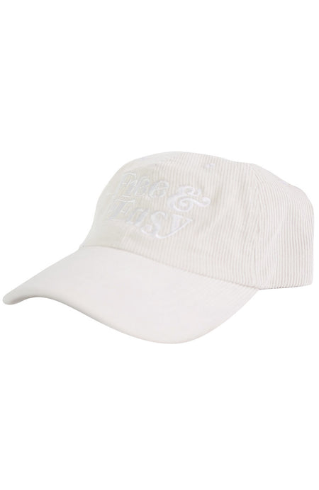 Free & Easy Corduroy Hat