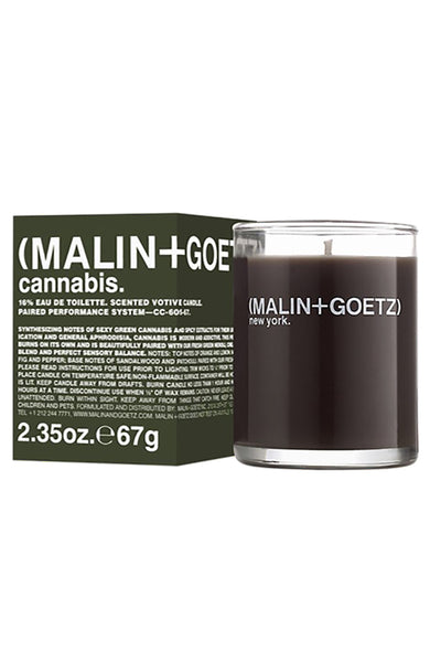 Malin+Goetz Cannabis Votive Candle at Ron Herman