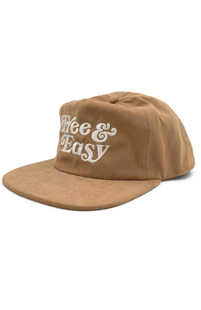 Free & Easy Peach Fuzz Hat in Camel