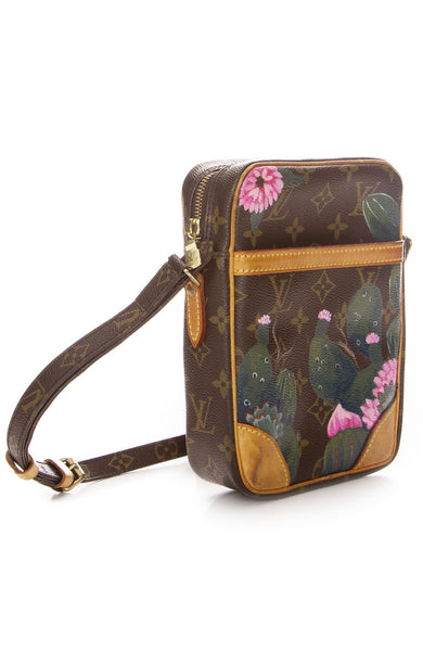 New Vintage Louis Vuitton Danube Cactus Tree Crossbody Bag at Ron Herman